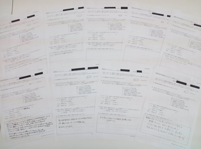 151022 マーケティング勉強会アンケート(大阪)